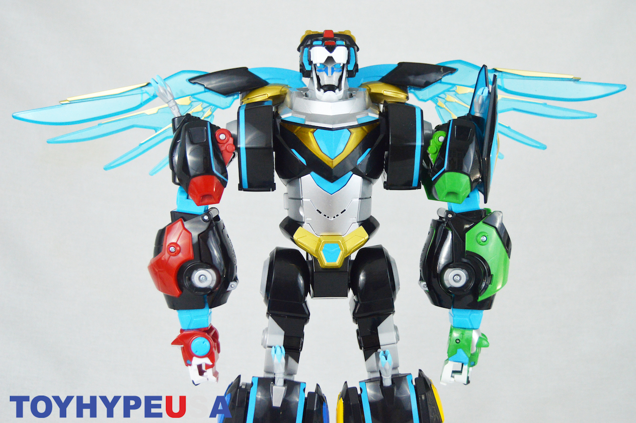 Playmates Toys San Diego Comic-Con 2018 Hyper-Phase Voltron Exclusive Box Set Review