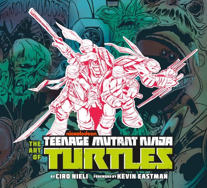 Dark Horse & Nickelodeon Present The Art Of Teenage Mutant Ninja Turtles 2012 Hardcover