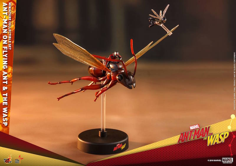 Hot Toys Ant-Man Movie – Ant-Man On Flying Ant And The Wasp Miniature Collectible Set