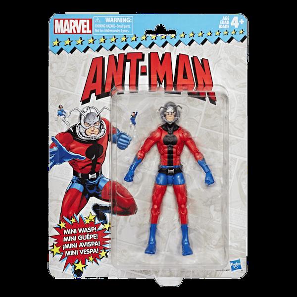 Hasbro Marvel Legends 6″ Vintage Ant-Man & Wasp Figure Pre-Orders