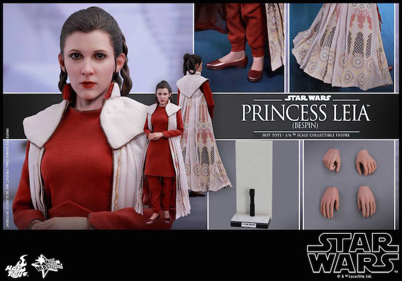 Hot Toys Star Wars: The Empire Strikes Back – Bespin Princess Leia Sixth Scale Figure Pre-Orders