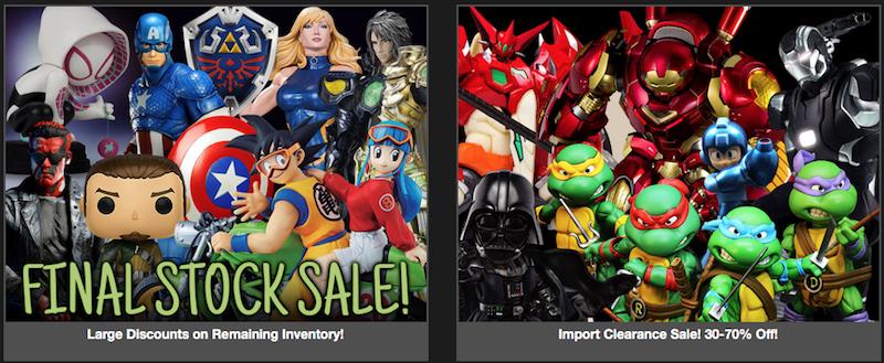 BigBadToyStore News – Sales! MAFEX Venom & Robocop, Overwatch, Dragon Ball, Star Wars, Acid Rain, TWD, Mortal Kombat & More