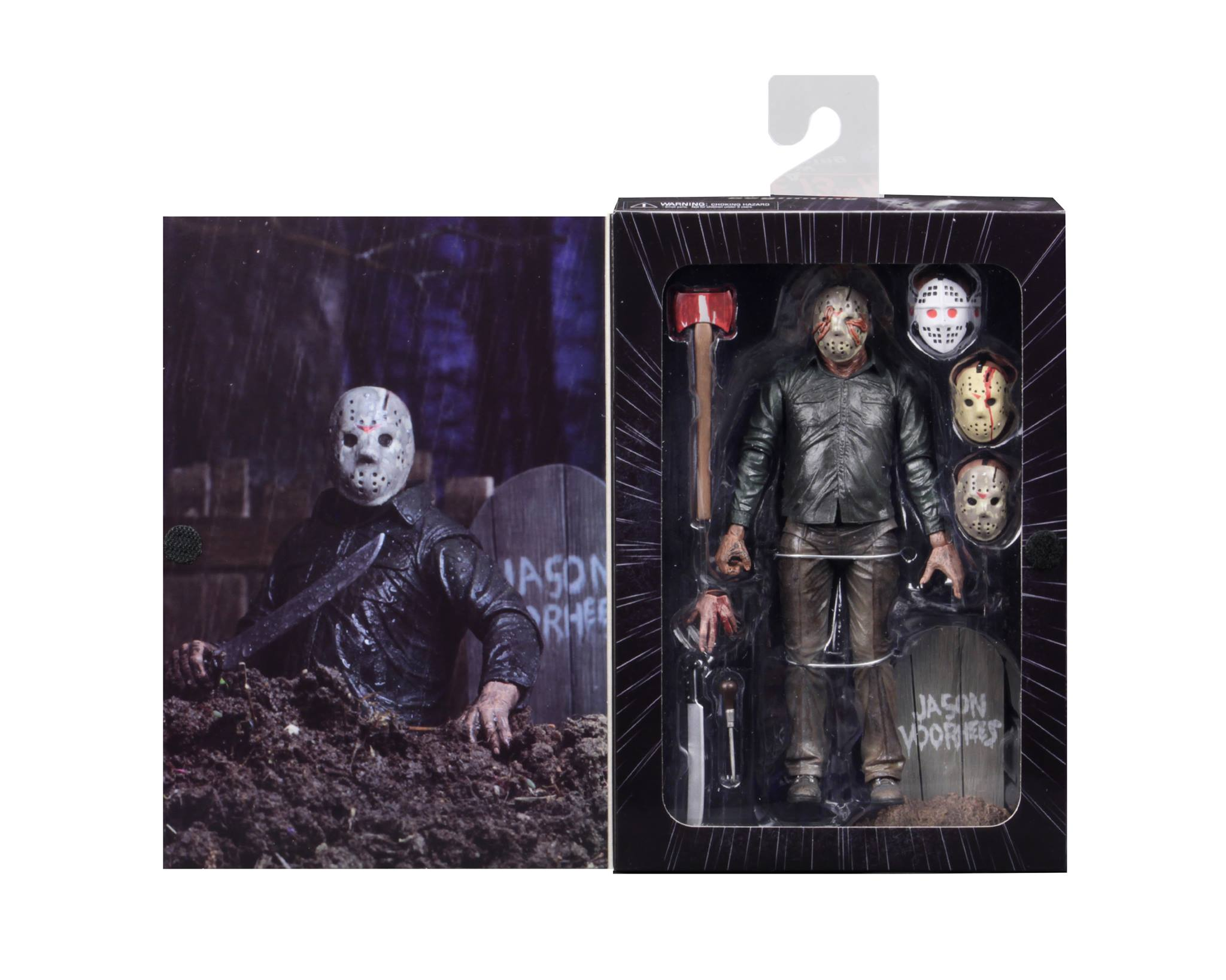 NECA Toys Shipping This Week – Ultimate Ahab, Ultimate Dream Sequence Jason, Chucky, Thanos & Groot Head Knockers