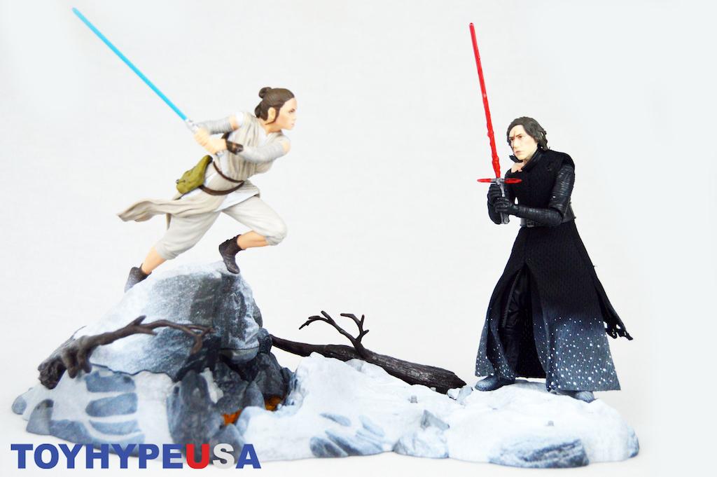 Hasbro San Diego Comic-Con 2018 Exclusive Star Wars The Black Series Starkiller Base & Kylo Ren Figure Review