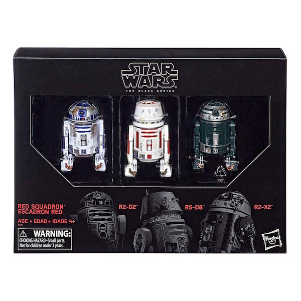 Hasbro Star Wars The Black Series 6″ Scale Red Squadron Set Now $38 On Amazon
