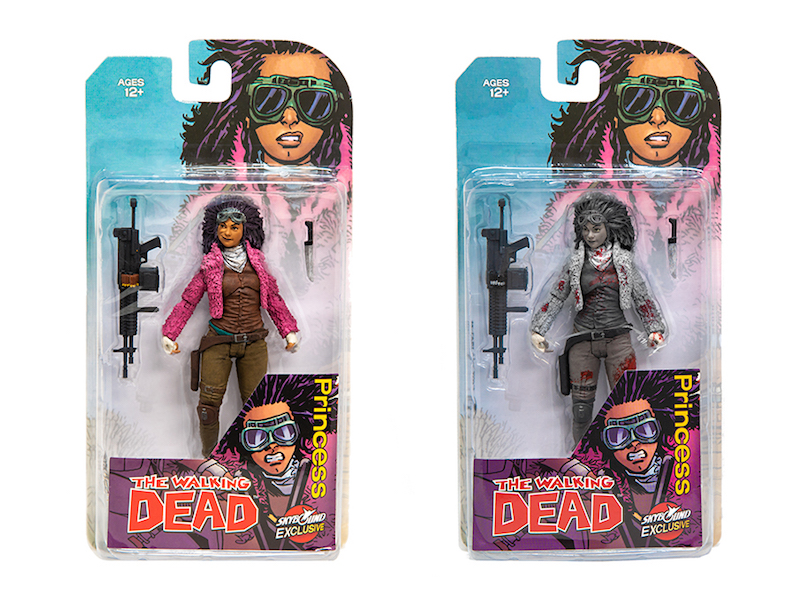 McFarlane Toys The Walking Dead Princess Of Pittsburgh New York Comic-Con 2018 Exclusives