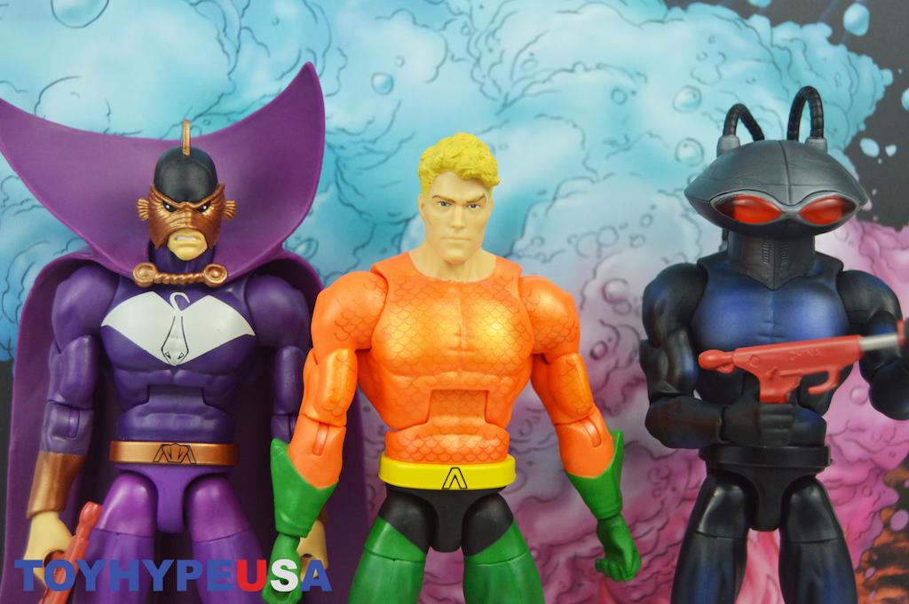 Mattel San Diego Comic-Con 2018 Exclusive DC Multiverse Aquaman Between Two Dooms Box Set Review