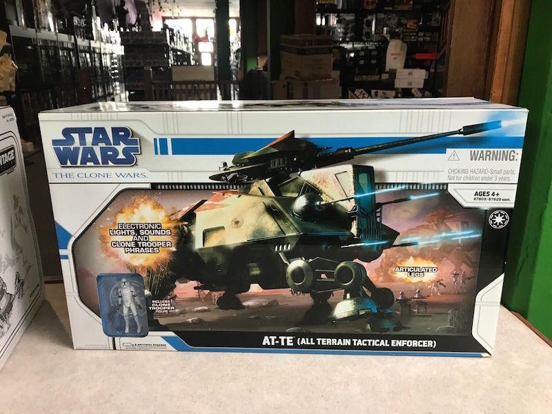 Kokomo Toys eBay Store – Hasbro Star Wars The Clone Wars AT-TE All Terrain Tactical Enforcer