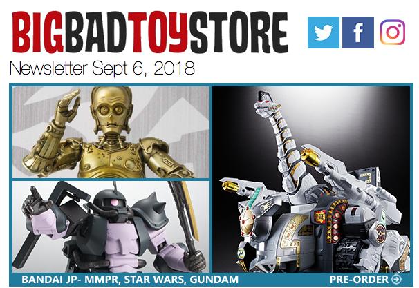 BigBadToyStore News – MMPR, Star Wars, Alien/Predator, Marvel Legends, Transformers, Gundam, Pennywise & More