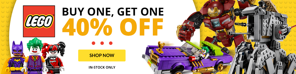 Entertainment Earth's LEGO BOGO Sale Of 40% Off Ends Today
