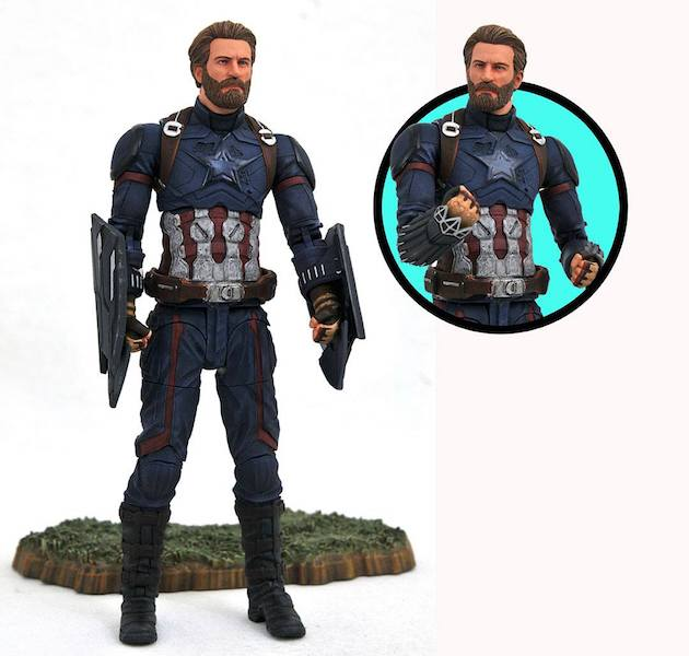 Diamond Select Toys Shipping This Week – Avengers: Infinity War Marvel Select Captain America Figure