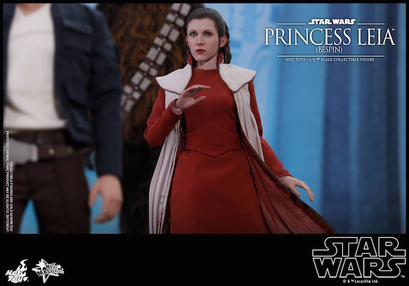Hot Toys Star Wars: The Empire Strikes Back – Bespin Princess Leia Sixth Scale Figure