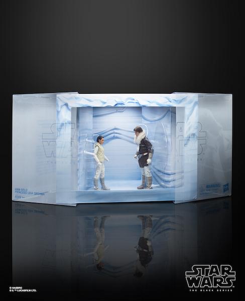 Hasbro Star Wars The Black Series 6″ Hoth Leia Organa & Han Solo Figures Available On Amazon