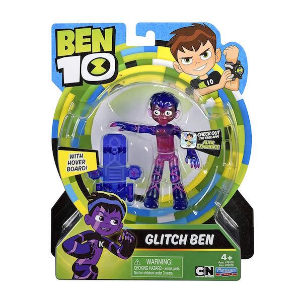 Playmates Toys Ben 10 – Glitch Ben & Omni-Enhanced Shockrock In Stock On Amazon