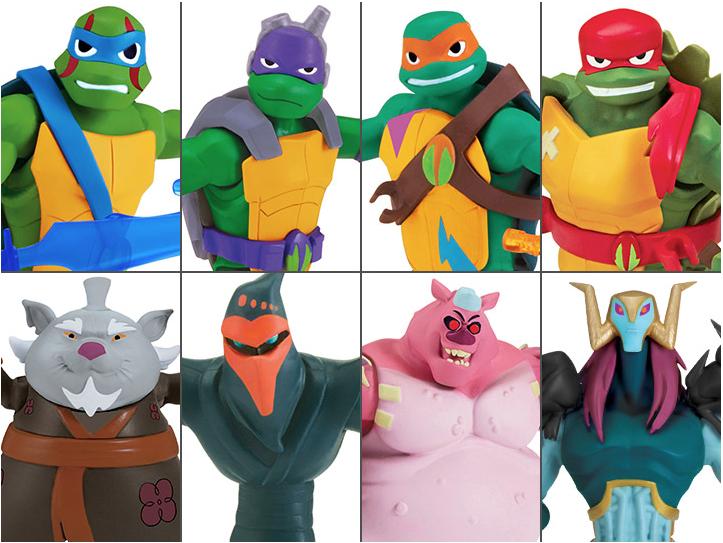 BigBadToyStore – Playmates Toys Rise Of The Teenage Mutant Ninja Turtles Pre-Orders