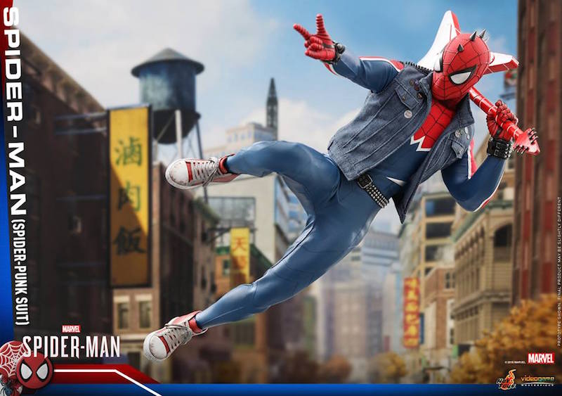 Hot Toys PlayStation 4 Spider-Man – Spider-Punk Costume Sixth Scale Figure
