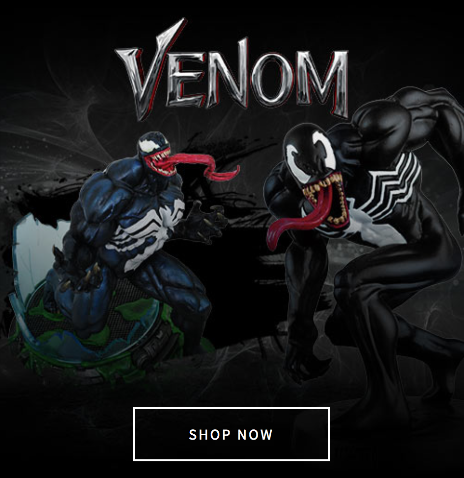 Entertainment Earth Celebrates 2018 Venom Movie With New Product Page
