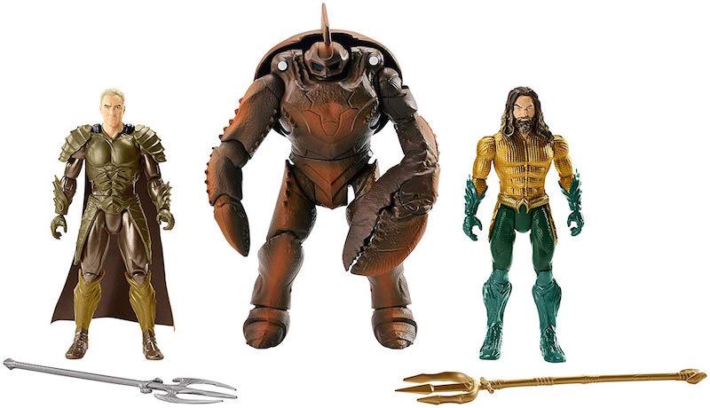 Mattel – Aquaman Movie 6″ Aquaman, Orm, Brine King Figure 3 Pack Pre-Orders On Amazon