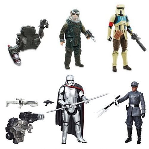 Entertainment Earth Exclusives – Star Wars Shoretrooper, Bistan, Finn, & Phasma Bundle Deal