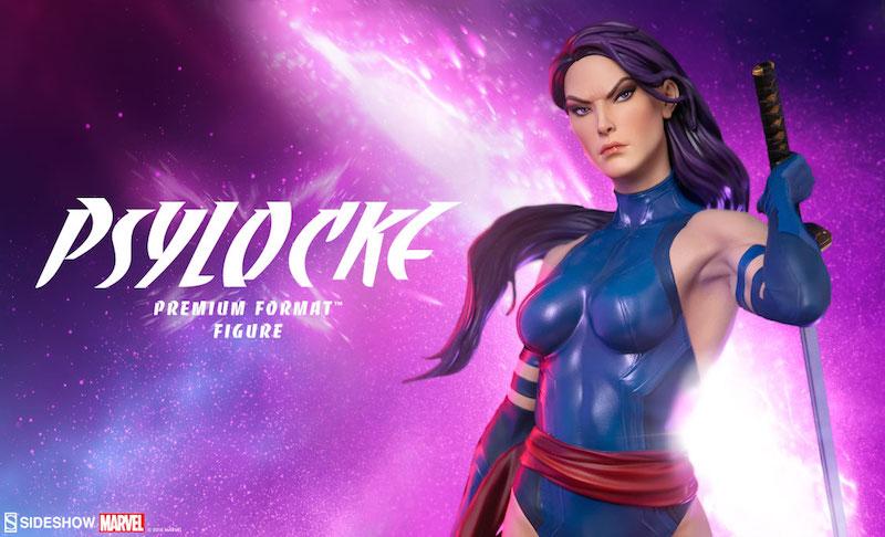 Sideshow Collectibles Psylocke Premium Format Figure