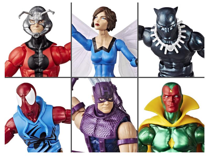 Hasbro Marvel Legends 6″ Vintage Wave 2 Figure Pre-Orders