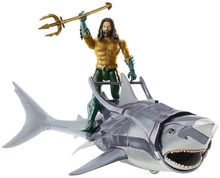 Mattel – Aquaman Movie 6″ Aquaman Figure Creature Packs Pre-Orders On Amazon