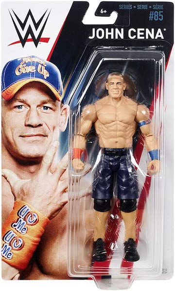 Mattel WWE Series # 85 Basic John Cena Figure On Amazon For $9.99