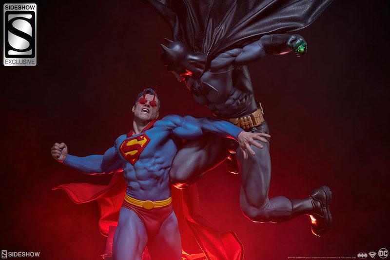 Sideshow Collectibles DC Comics Batman Versus Superman Statue Pre-Orders