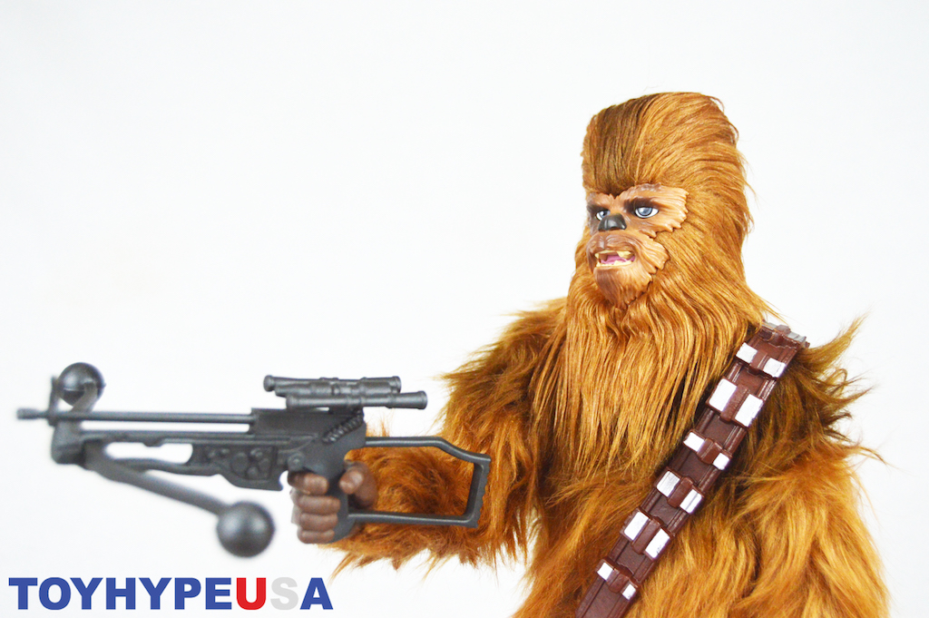 Hasbro San Diego Comic-Con 2018 Exclusive Star Wars Forces Of Destiny Chewbacca And Porgs Figures Review