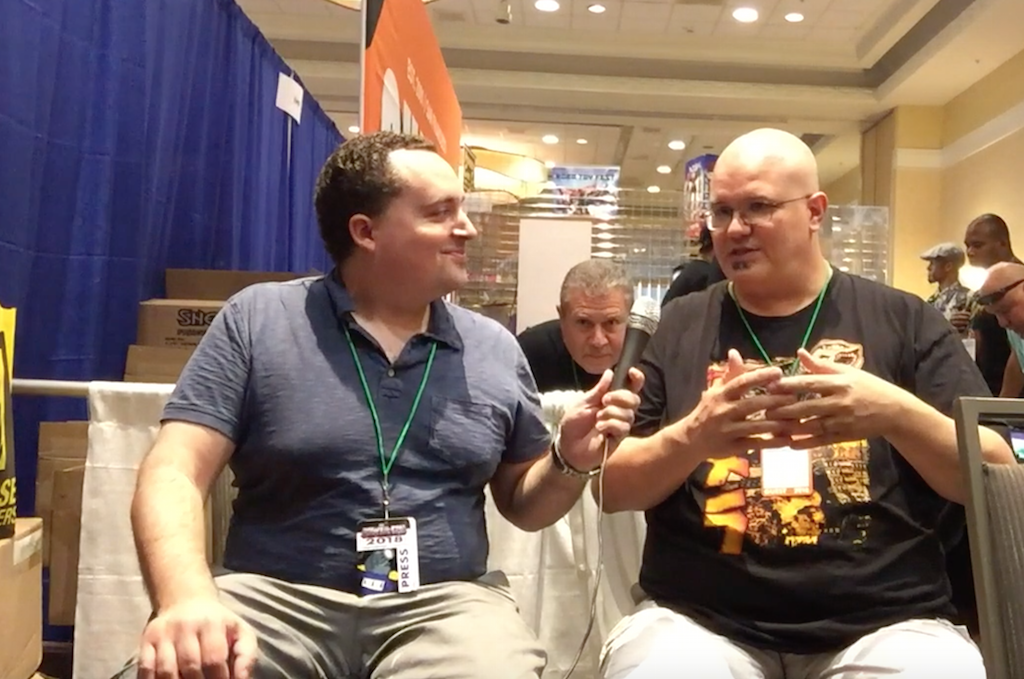 Power-Con 2018 – Four Horsemen Studios Video Interview With Cornboy