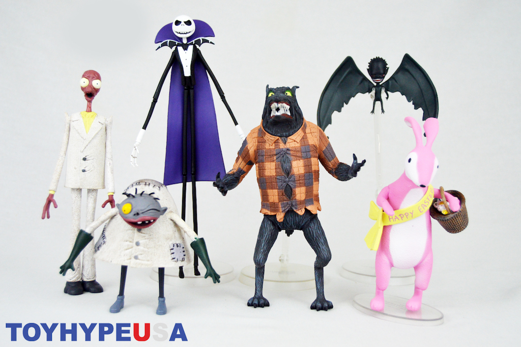 Diamond Select Toys The Nightmare Before Christmas Select Series 5 Figures Review