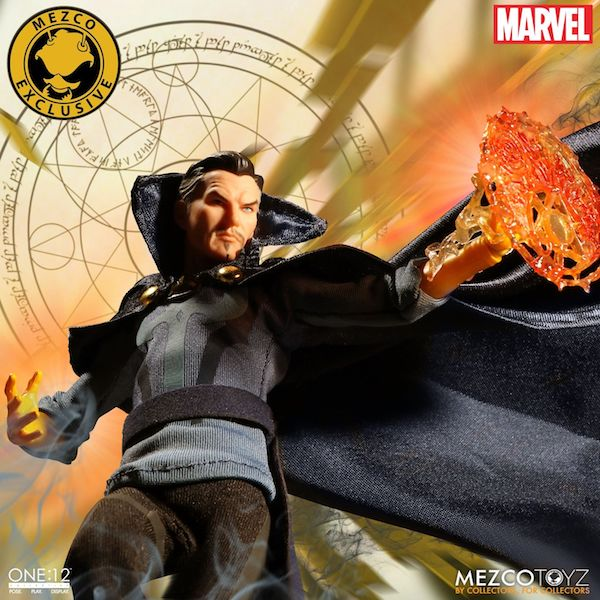 Mezco Toyz NYCC 2018 Exclusive – One:12 Collective Marvel Comics Dr. Strange First Appearance Edition Figure