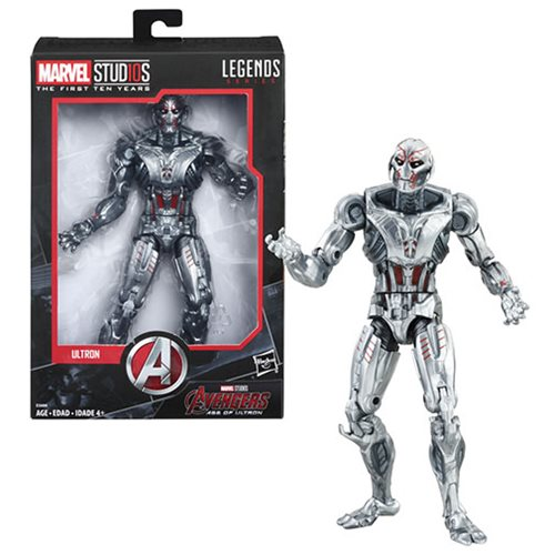 Hasbro Marvel Legends Cinematic Universe 10th Anniversary Ultron 6″ Figure Available Soon