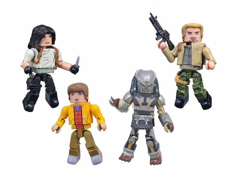 Diamond Select Toys – The Predator Movie 2018 Minimates