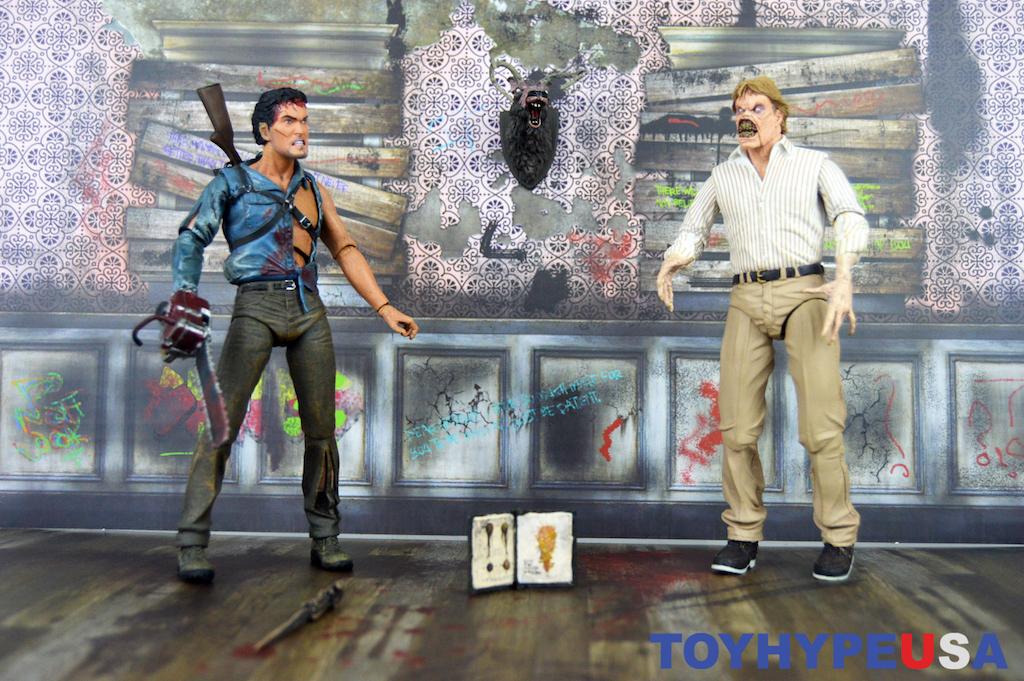 NECA Toys Evil Dead 2 Hero Ash & Evil Ed 7″ Scale Figures Review