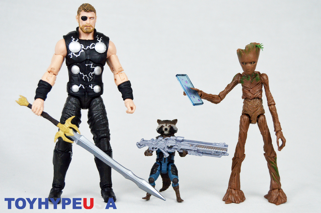 Hasbro Marvel Legends Avengers: Infinity War Thor, Rocket Raccoon & Groot 6″ Figure Box Set Review