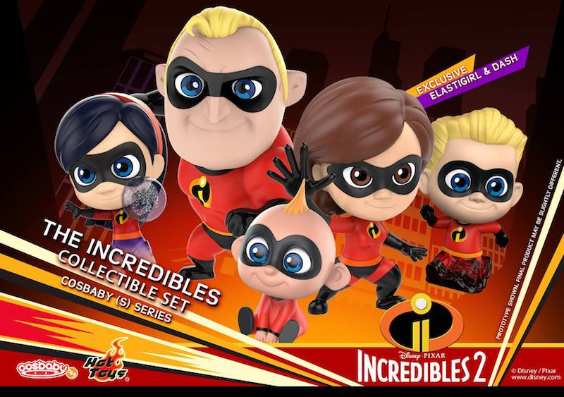 Hot Toys Announces Incredibles 2 Cosbaby (S) Series