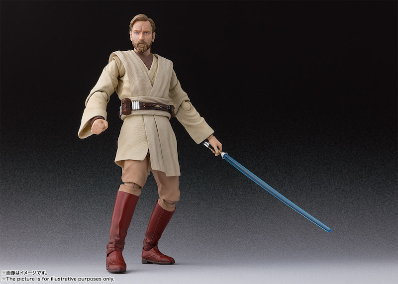 S.H. Figuarts Star Wars: Revenge Of The Sith – Obi-Wan Kenobi Figure