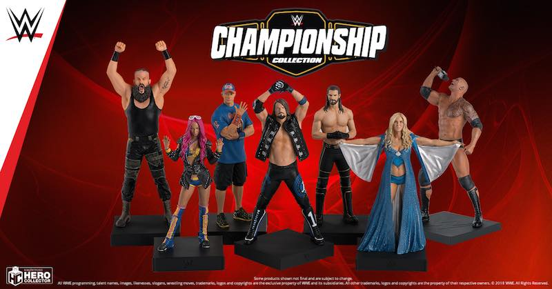 Eaglemoss Hero Collector – Champions Of The WWE & Icons Of The Wizarding World Official Press Release
