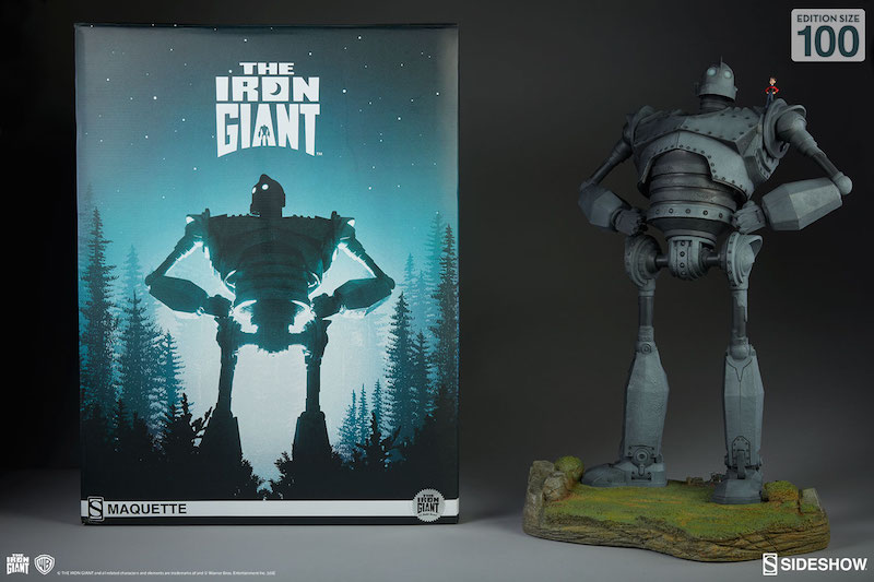 Sideshow Collectibles Iron Giant Cel-Shaded Variant Maquette