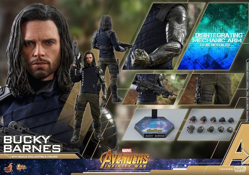 Hot Toys Avengers: Infinity War Bucky Barnes Sixth Scale Figure Pre-Orders