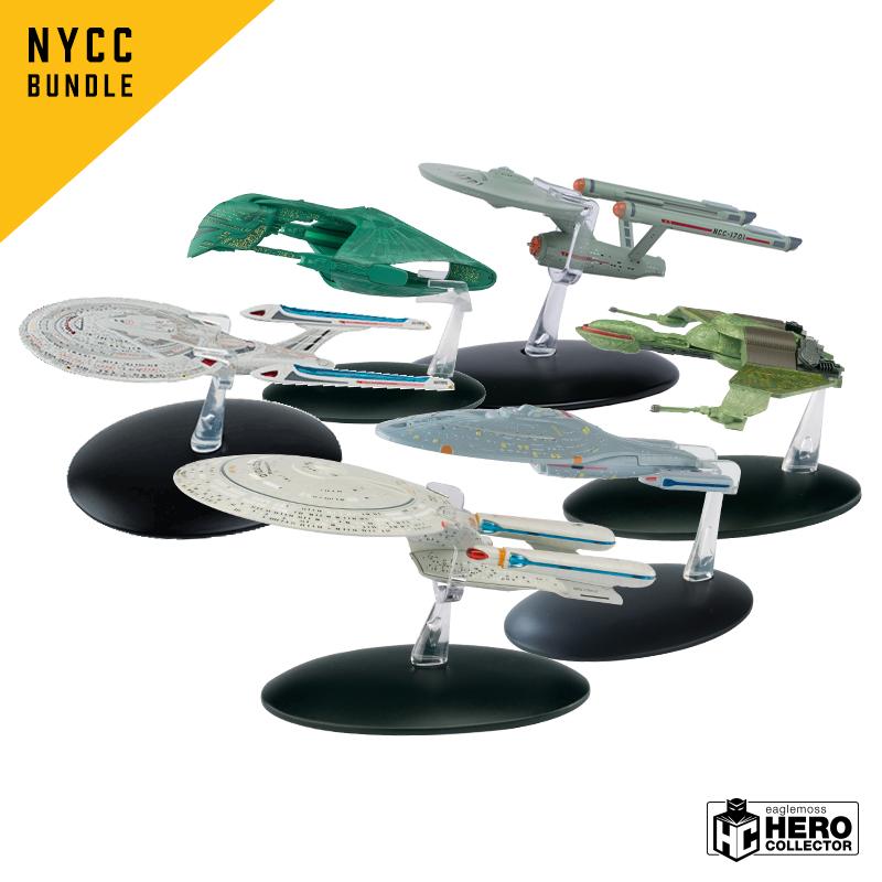 Eaglemoss Hero Collector Star Trek Exclusives & Debuts At New York Comic-Con 2018