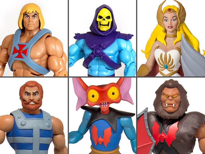 Super7 Masters Of The Universe Classics Club Grayskull Wave 3 & Ultimates Figures