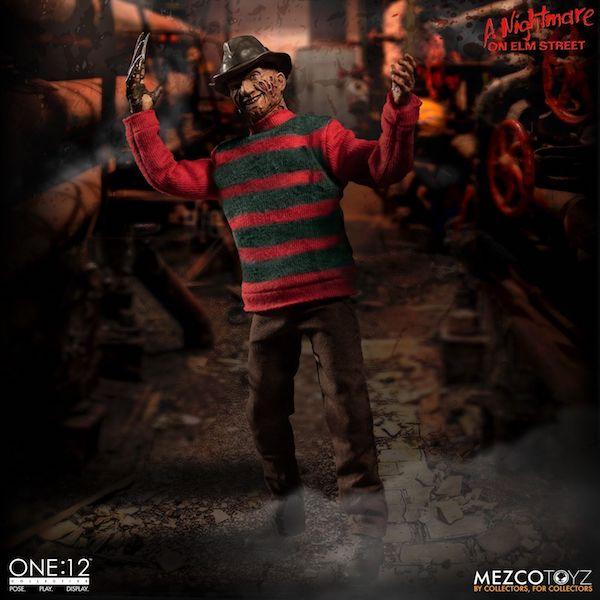 Mezco Toyz One:12 Collective A Nightmare On Elm StreetFreddy Krueger Figure
