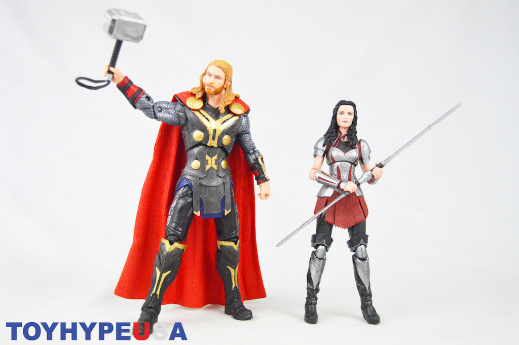 Hasbro Marvel Legends 6″ Cinematic Universe 10th Anniversary Thor & Sif Figures Review