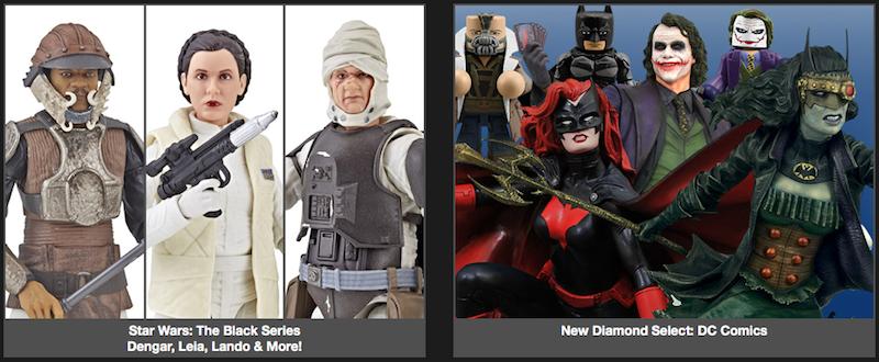 BigBadToyStore News – Star Wars Black, Street Fighter, Diamond Select, Kingdom Hearts, Transformers & More