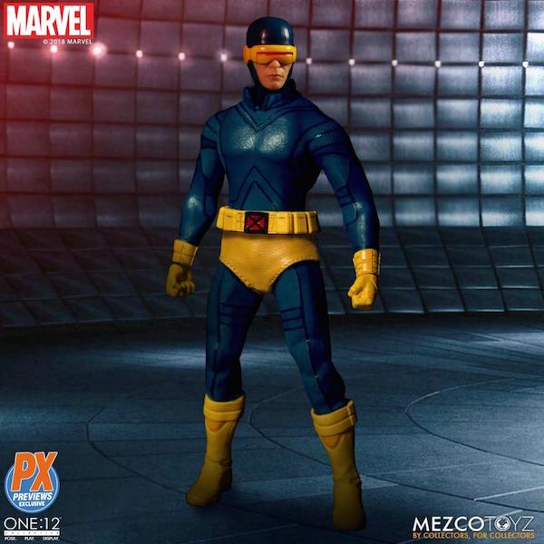 Mezco Toyz One:12 Collective Previews Exclusive Cyclops Figure