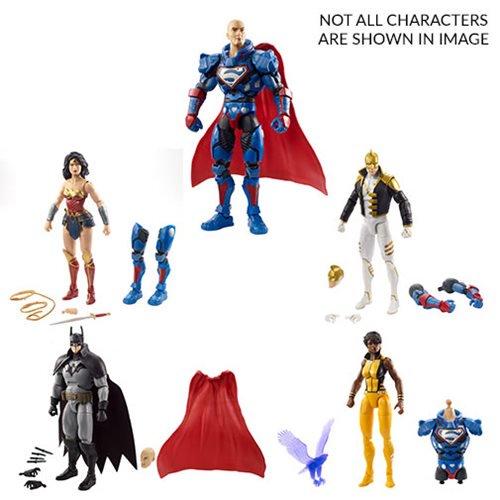 Mattel DC Comics Multiverse 6″ Lex Luthor Collect & Connect Wave 9 Available Now