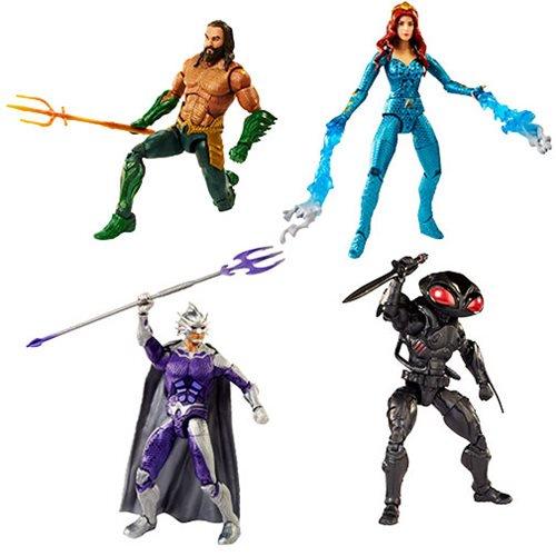 Mattel – Aquaman Movie DC Multiverse 6″ Figures In Stock On Amazon