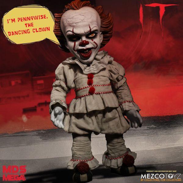 Mezco Toyz IT Pennywise Mega Scale Figure